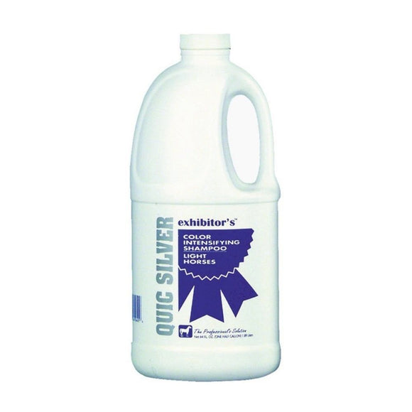 Quic Silver Shampoo - 64 oz - Barn Supply - Barn Supplies - Hamps Saddle & Tack