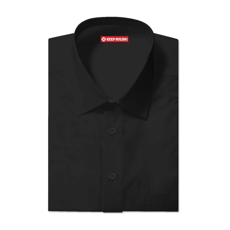 Keep Ruling Black Button Up Shirt