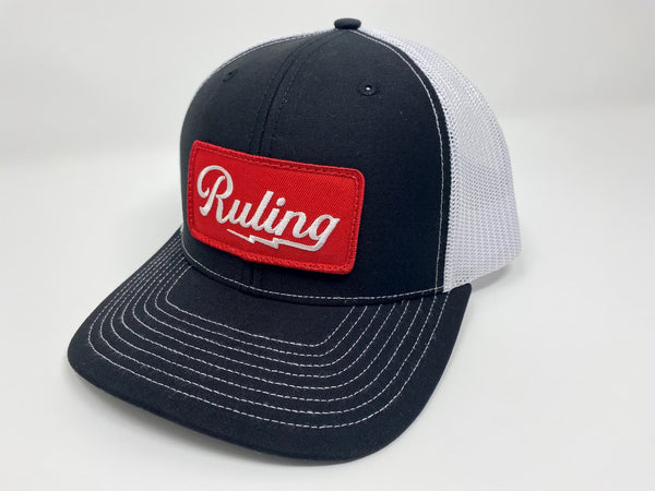 Ruling Lightning Trucker Hat (Black)
