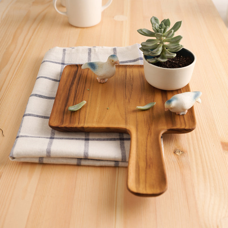 Limpid Serving Tray - Teak