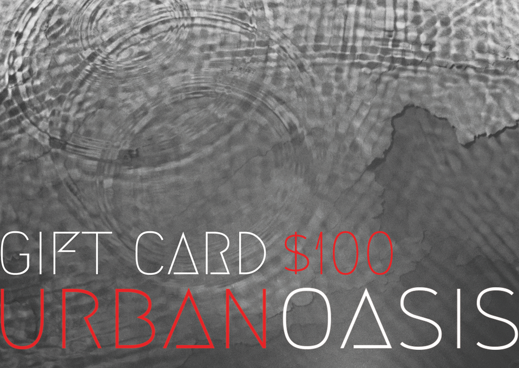 Urban Oasis Gift Cards