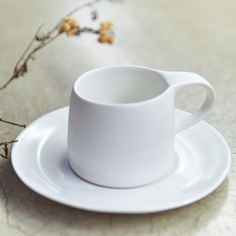 Ripple Cappuccino Cup & Saucer