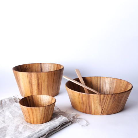 Moon Salad Bowl - Teak
