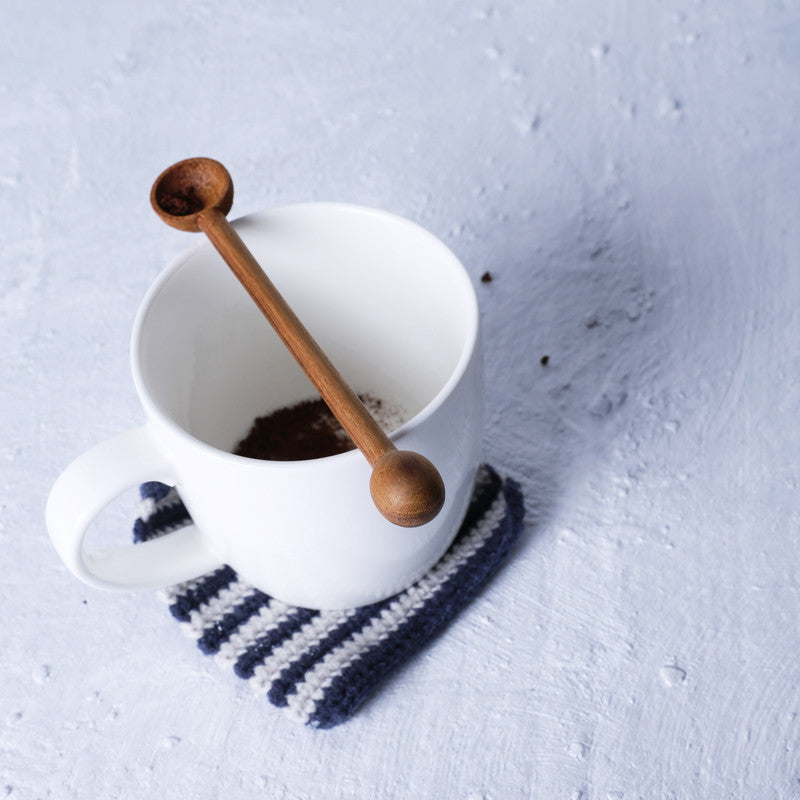 """O"" Coffee Spoon"