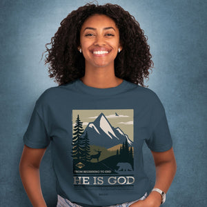 Kerusso Christian T-Shirt He Is God
