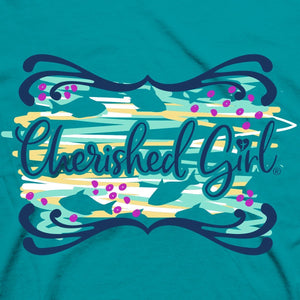 Cherished Girl Womens T-Shirt Turtley Love