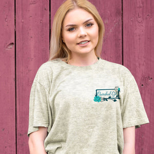 Cherished Girl Womens T-Shirt Country Barn