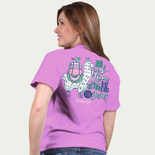 Load image into Gallery viewer, Cherished Girl Womens T-Shirt No Prob Llama Too Big