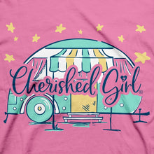 Load image into Gallery viewer, Cherished Girl Womens T-Shirt Star Camper