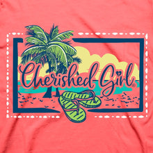 Load image into Gallery viewer, Cherished Girl Womens T-Shirt Beach Hammock