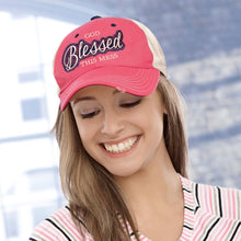 Load image into Gallery viewer, Cherished Girl Womens Cap God Blessed