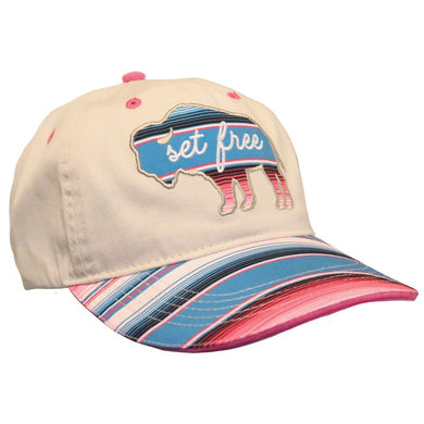 Cherished Girl Womens Cap Set Free Bison