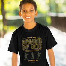 Load image into Gallery viewer, Kerusso Kids T-Shirt Armor Men