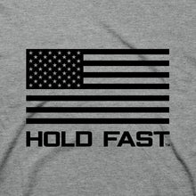 Load image into Gallery viewer, HOLD FAST Christian T-Shirt God's Side Abraham Lincoln