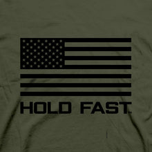 Load image into Gallery viewer, HOLD FAST Christian T-Shirt Freedom Flag
