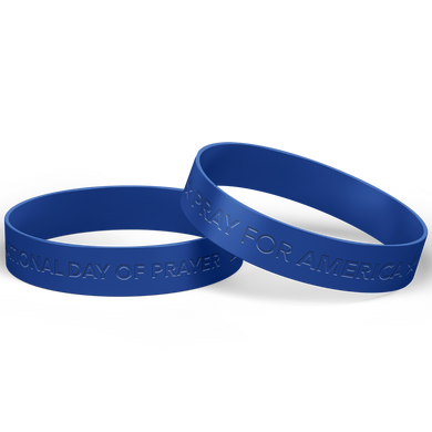 NDP Silicone Wristband Pray for America