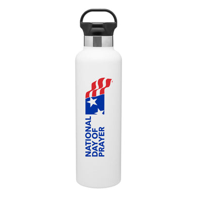 NDP - SS Thermal Water Bottle 25 oz - White