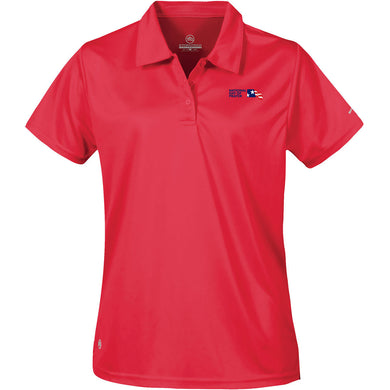NDP Women's Polo - Scarlet Red