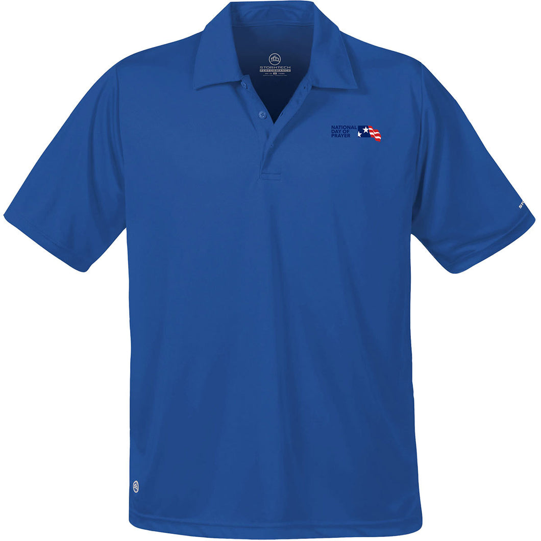 NDP Men's Polo - Royal