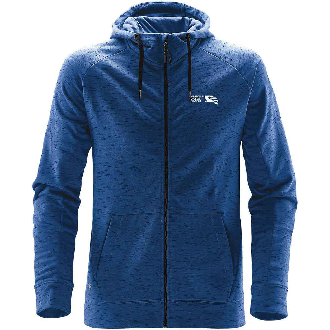 NDP Men's Cascade Fleece Hoody - Blue