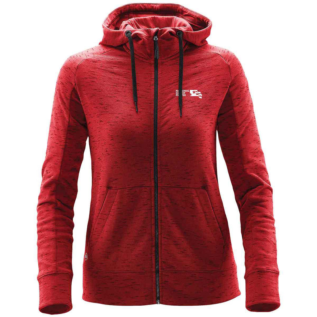 NDP Women's Cascade Fleece Hoody - Red