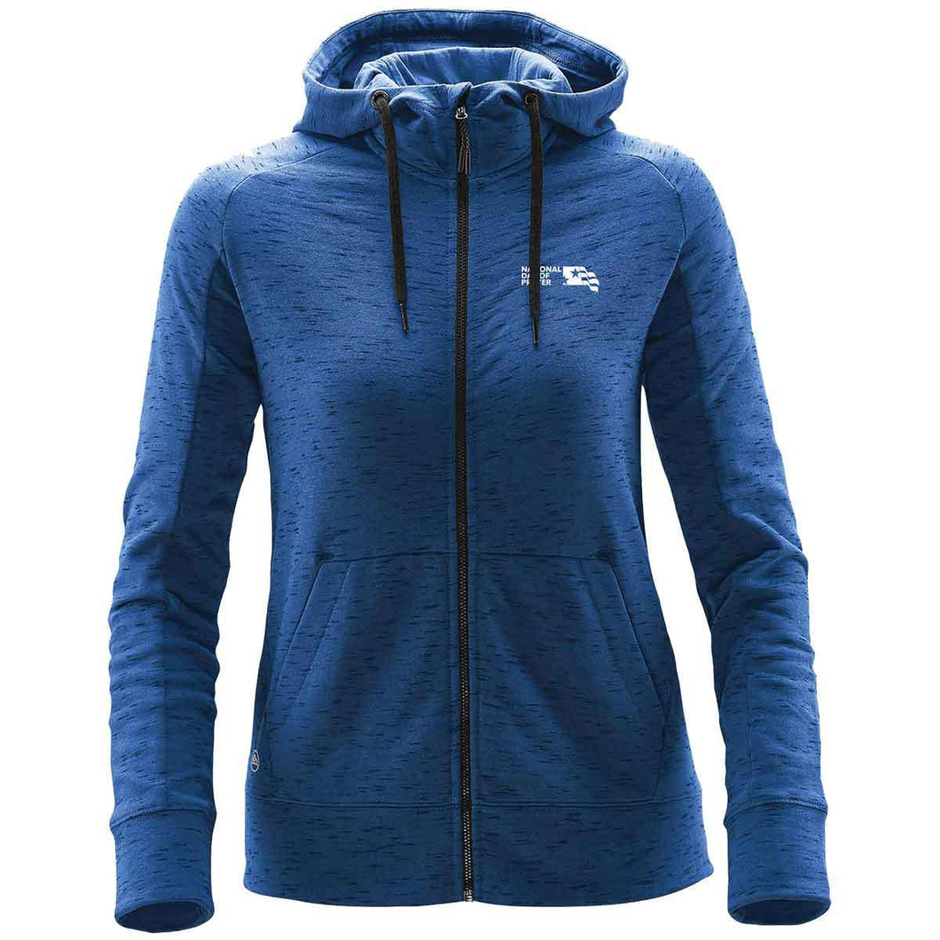 NDP Women's Cascade Fleece Hoody - Blue