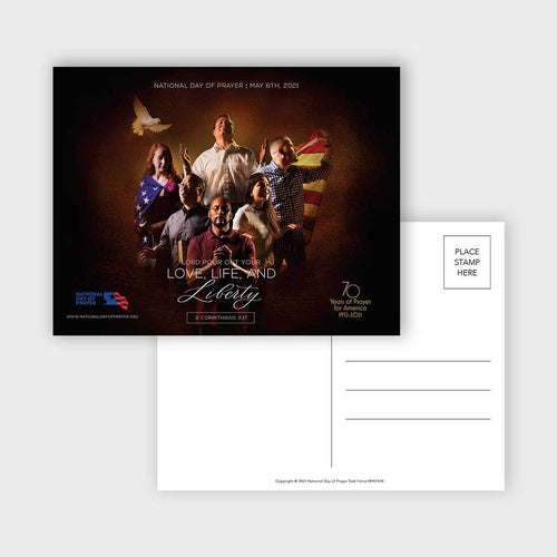 Ndp - 2021 Theme Postcards (Pkg Of 50) Event