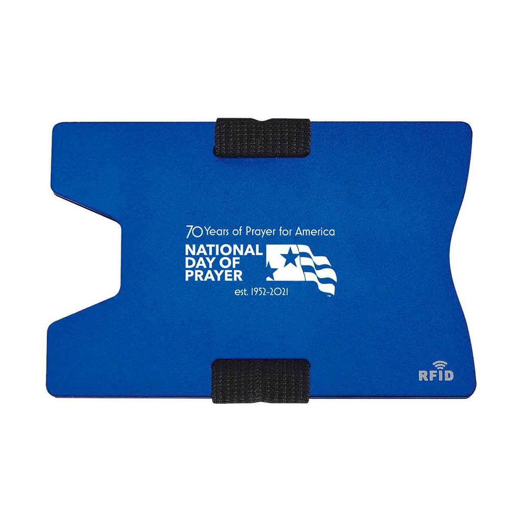 Ndp - 2021 70Th Anniversary Rfid Card Holders Blue Accessories