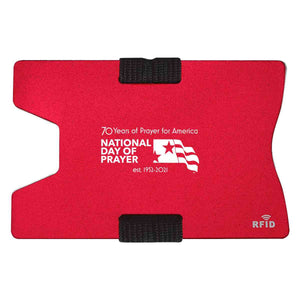 Ndp - 2021 70Th Anniversary Rfid Card Holders Red Accessories