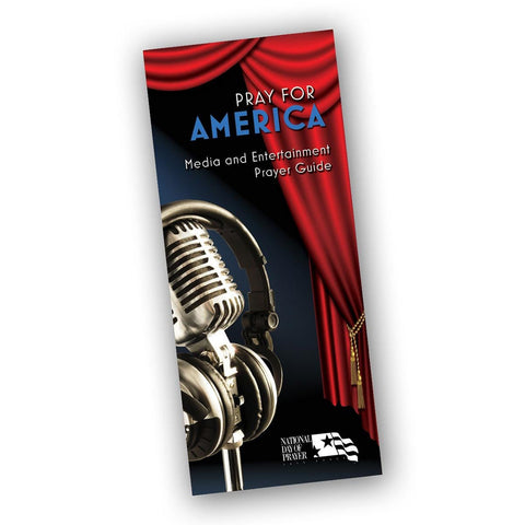 National Day of Prayer - Prayer Guide for Media and Entertainment (Pack of 50)