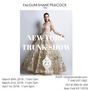 Terra Inde Hosts Falguni Shane Peacock Trunk Show in New York