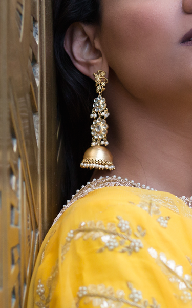 Terra Inde ReeMat Earrings