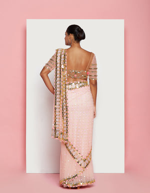 PDP Blush Saree Set