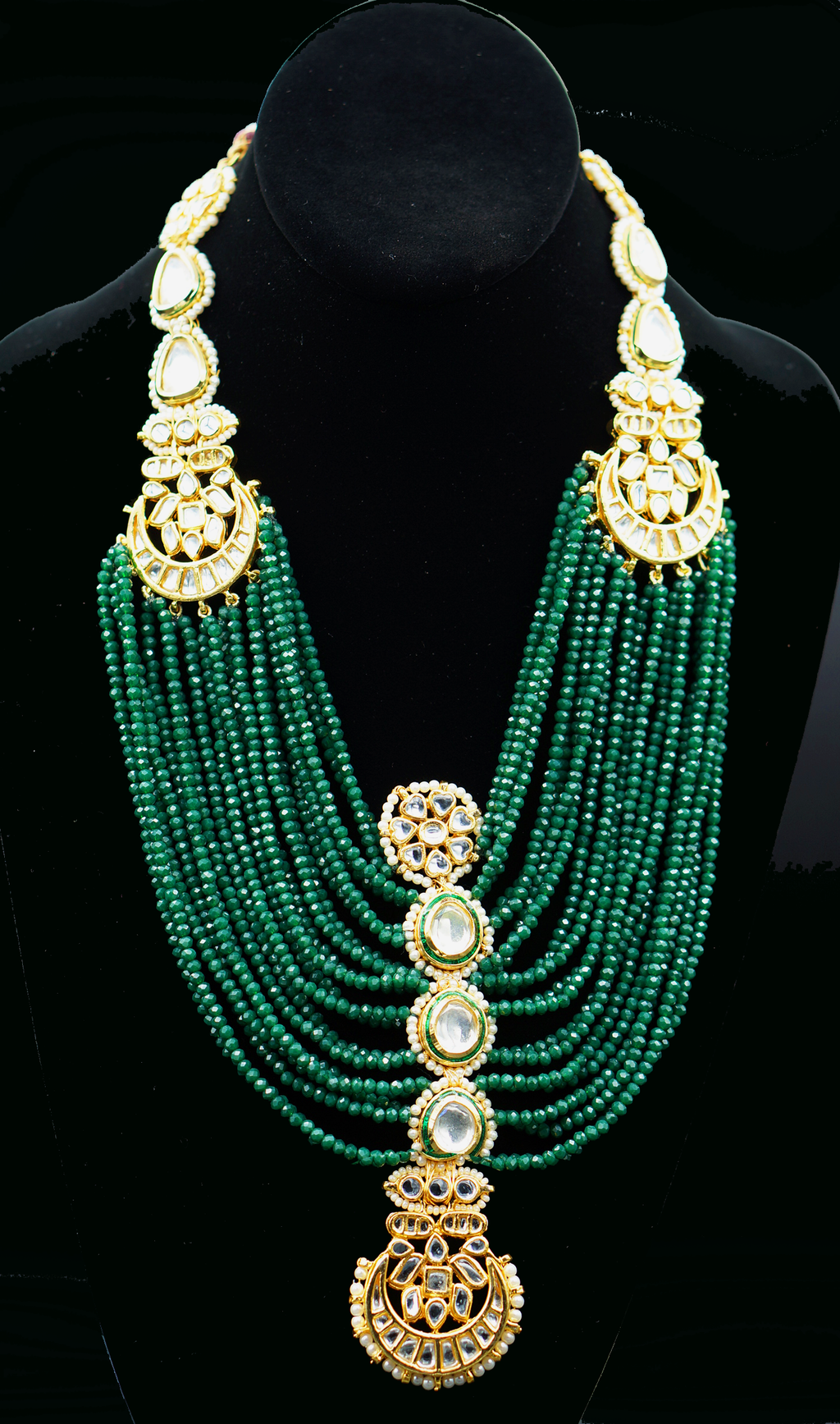 ReeMat Emerald Maharani Necklace