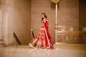 The Little Black Bow Bridal Lehenga