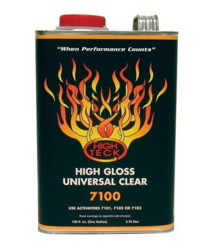 High Teck 7100-1 MS Urethane Clear Gallon - Kustom Paint Supply