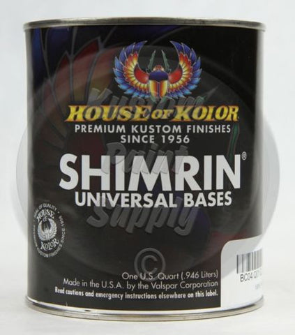 1Qt - House of Kolor - Shimrin Basecoat - Kandy Purple KBC10 - Kustom Paint Supply