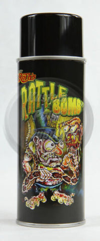 Lil' Daddy Roth Rattle Bomb Pearl - Bad Azzz Blue - 12oz Aerosol - Kustom Paint Supply