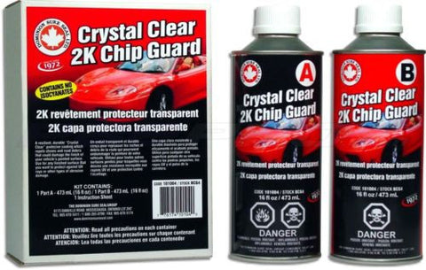 Dominion Sure Seal BCG4 Crystal Clear 2K Chip Guard Quart Kit - Kustom Paint Supply