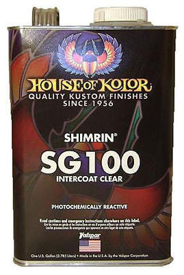 House of Kolor SG100 Shimrin Intercoat Clear 1 Gallon - Kustom Paint Supply
