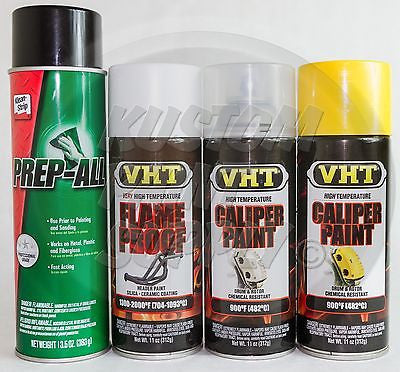 1 Kit - VHT - Bright Yellow Caliper Drum Paint ESW362, SP118, SP730, SP738 - Kustom Paint Supply