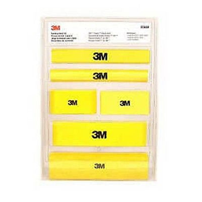 3M 5684  Hookit Sanding Block - Kustom Paint Supply