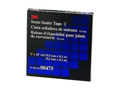 08475 3M Seam Sealer Tape Black Roll - Kustom Paint Supply