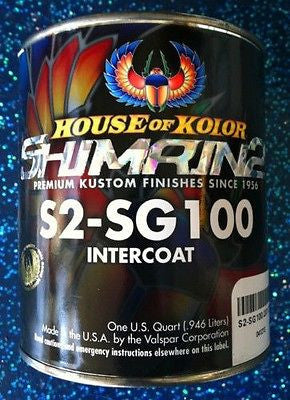 House of Kolor S2-SG100 Shimrin2  Intercoat Clear  1 Quart