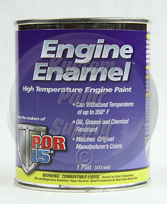 POR 15 42098 Ford Red Engine Enamel EEPCFR Pint