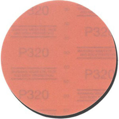 3M 1109 Stikit 320 Grit Red Abrasive Disc - Kustom Paint Supply