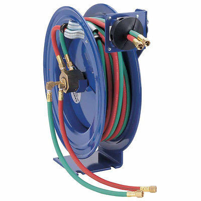 Coxreels - 1ea - Oxygen Acetylene Retractable Reel w/50' Hose - Pt#170-SHW-N-150 - Kustom Paint Supply