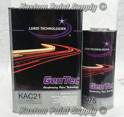 GenTec Clearcoat KAC21 Clearcoat Kit GALLON 4:1 Ratio - Kustom Paint Supply