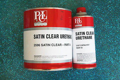 PCL Satin Clearcoat 2596 2597 1 Quart Kit