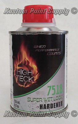 Super Wet Look Hardener Acrylic Enamel High Teck 7518 1/2 Pint